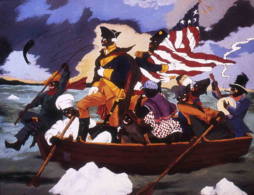 George Washington Carver Crossing the Delaware
